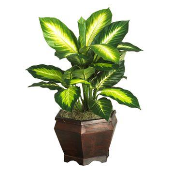 nearly natural Silk Golden Dieffenbachia Plant