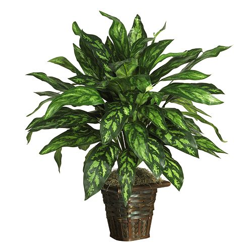 nearly natural Silk Silver King Plant