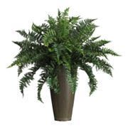 nearly natural Silk Ruffle Fern Plant