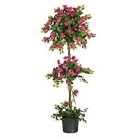 nearly natural Silk Mini Bougainvillea Topiary Tree