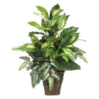 nearly natural Silk Mixed Greens Plant