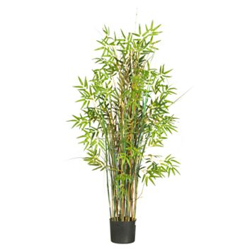 nearly natural Silk Bamboo Grass Plant