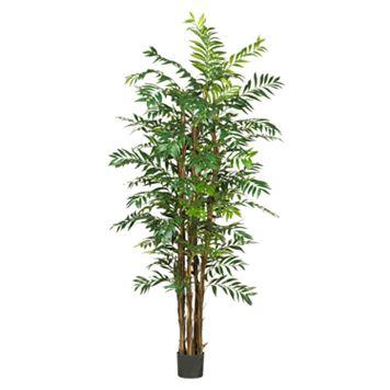 nearly natural Silk Bamboo Palm Tree