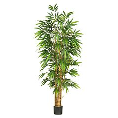 nearly natural Silk Belly Bamboo Tree