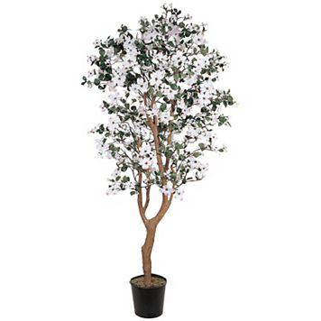 nearly natural Silk Dogwood Tree