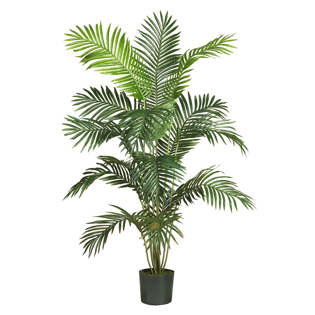 nearly natural 6-ft. Silk Paradise Palm Tree