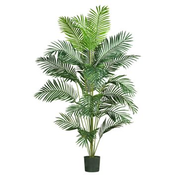 nearly natural 7-ft. Silk Paradise Palm Tree