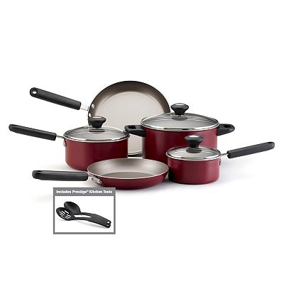 Farberware Premium Nonstick 10-pc. Cookware Set