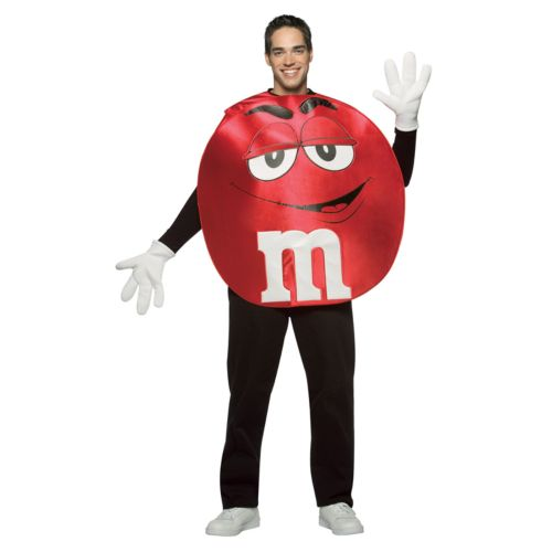 M and M's Red Costume - Adult