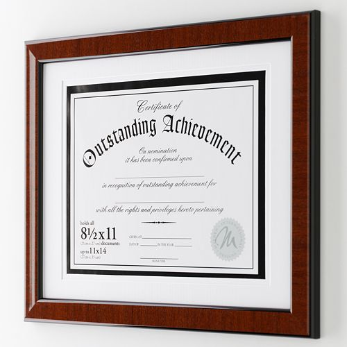 "Malden® 8 1/2"" x 11"" Document Frame"