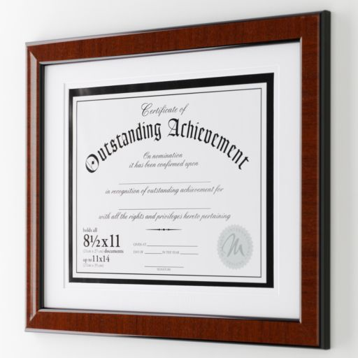 Malden® 8 1/2'' x 11'' Document Frame