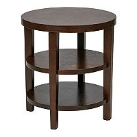 Office Star Products Avenue Six Merge End Table