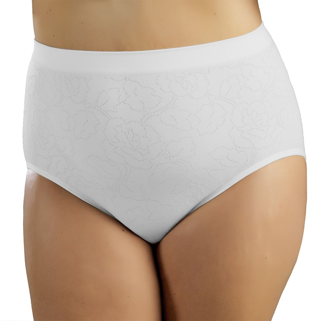 Vanity Fair Seam-Free Floral Jacquard Brief 13096 - Women's