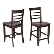 Office Star Products 2-pk. Jamestown Bar Stools