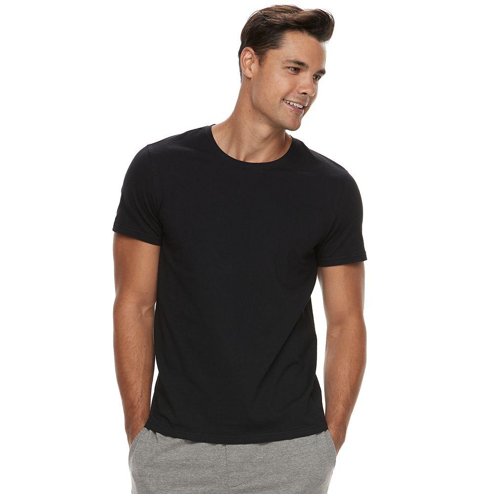 Black t shirts kohls - Men S Apt 9 Premier Flex Crewneck Sleep Shirt