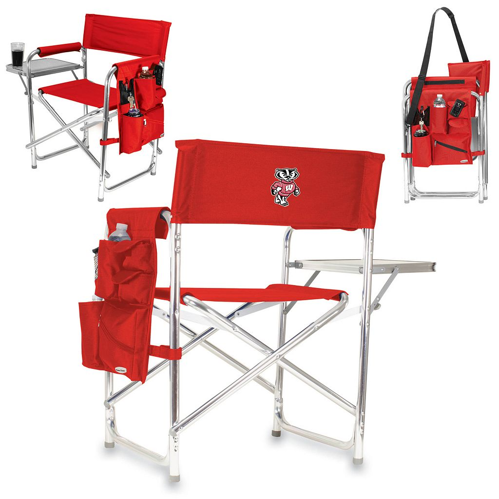 Wisconsin Badgers Sports Chair