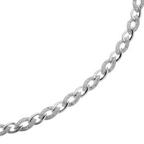 Sterling Silver 1/4-ct. T.W. Diamond Bracelet