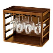 Wine Enthusiast Stackable Stemware Rack