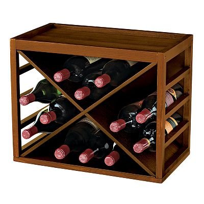 Wine Enthusiast Stackable Wine Rack
