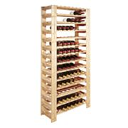 Wine Enthusiast 126-Bottle Swedish Wine Rack