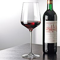 Wine Enthusiast 4 pc Fusion Infinity Red Wine Glass Set