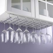 Wine Enthusiast Under Cabinet Stemware Rack
