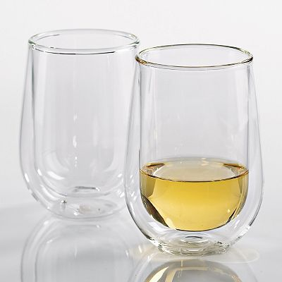 Wine Enthusiast 2-pc. Steady-Temp White Wine Glass Set