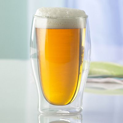 Wine Enthusiast 2-pc. Steady-Temp Beer Glass Set