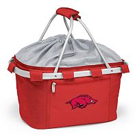 Arkansas Razorbacks Insulated Picnic Basket
