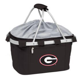 Georgia Bulldogs Insulated Picnic Basket