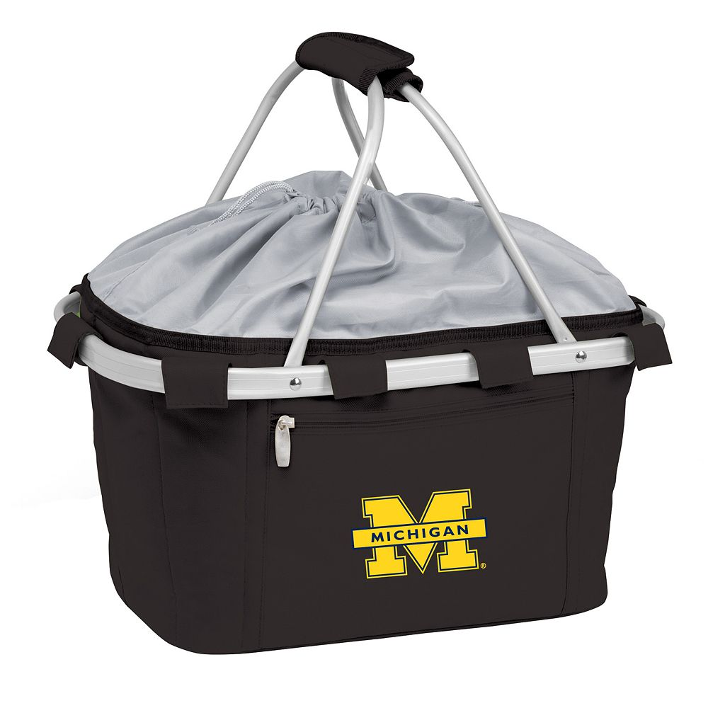 Michigan Wolverines Insulated Picnic Basket