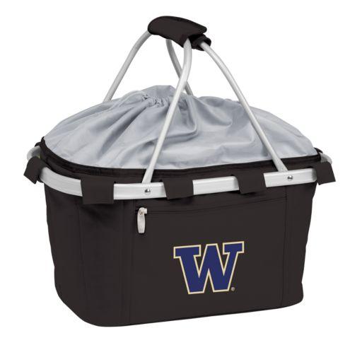 Washington Huskies Insulated Picnic Basket