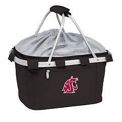 Washington State Cougars Insulated Picnic Basket