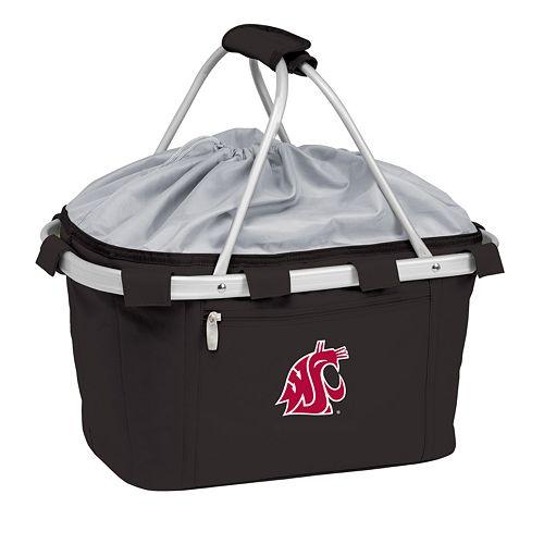 Washington State Cougars Insulated Picnic Basket