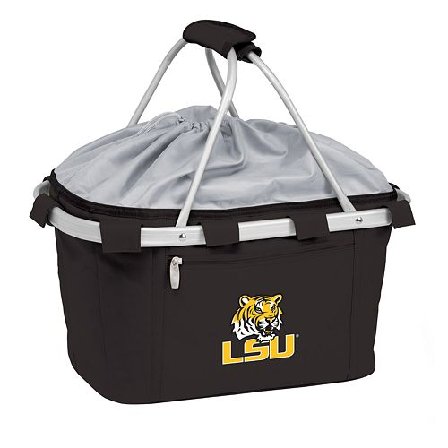 LSU Tigers Insulated Picnic Basket