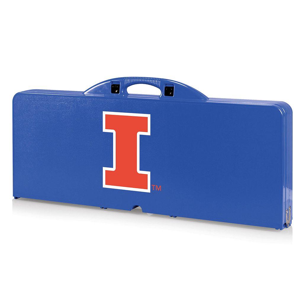 Illinois Fighting Illini Folding Table