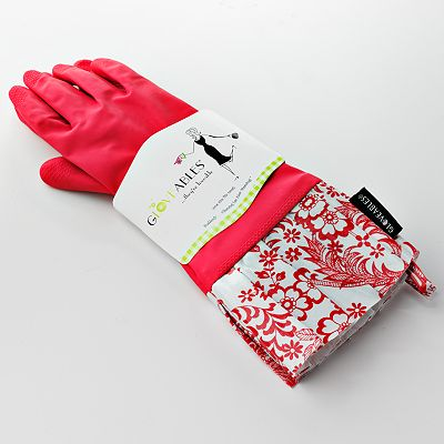 Gloveables Floral Rubber Gloves
