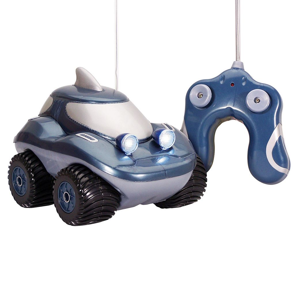 Kid Galaxy Morphibians Shark Radio Control Amphibious Vehicle