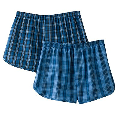 Jockey 2-pk. Plaid Tapered Boxers
