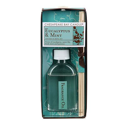 13-pc. Eucalyptus and Mint Reed Diffuser Refill Set