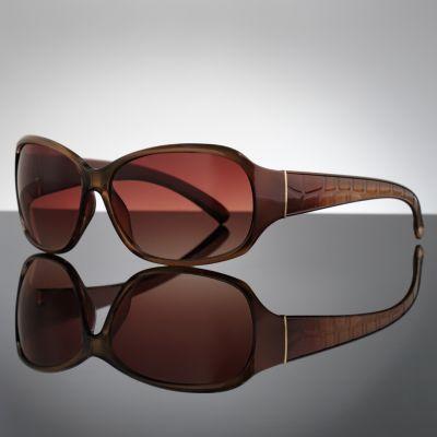 ELLE Crocodile Wrap Sunglasses