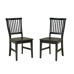 Arts & Crafts 2 pc Dining Chair Set