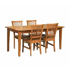 Arts & Crafts 5 pc Dining Set