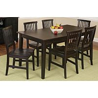 Arts & Crafts 7-pc. Dining Set