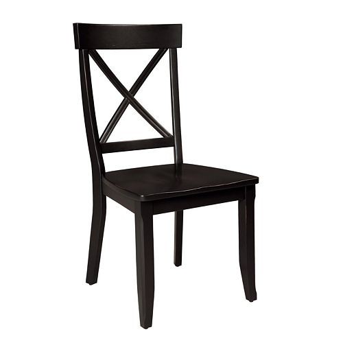 2-pc. Crossback Dining Chair Set