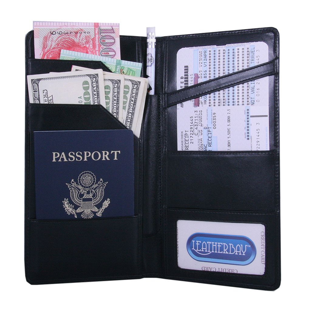 Leatherbay International Travel Passport Wallet