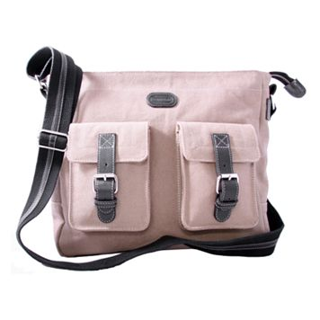 Leatherbay® Downtown Messenger Bag