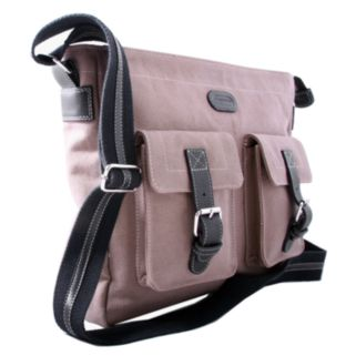 Leatherbay Downtown Messenger Bag