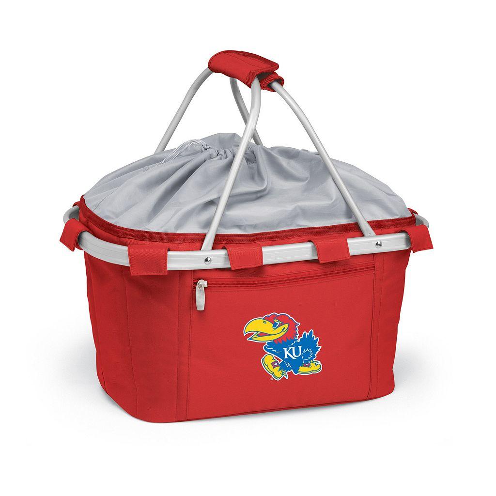 Kansas Jayhawks Insulated Picnic Basket