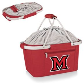 Miami University RedHawks Insulated Picnic Basket